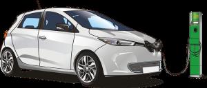 samochód elektryczny w okolicy Zaniemyśla